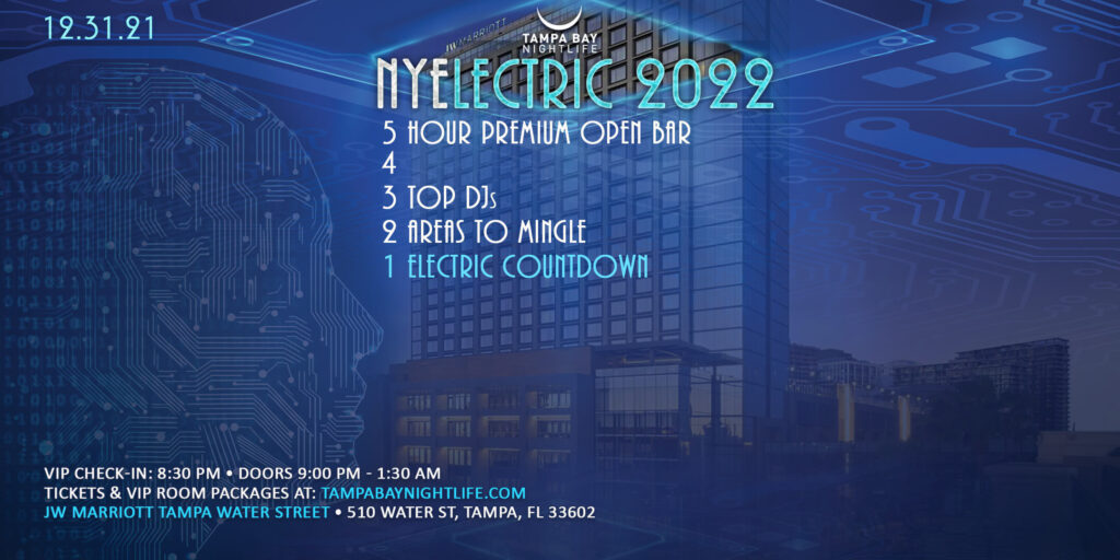 NYElectric Tampa New Year's Eve Party 2022 Countdown